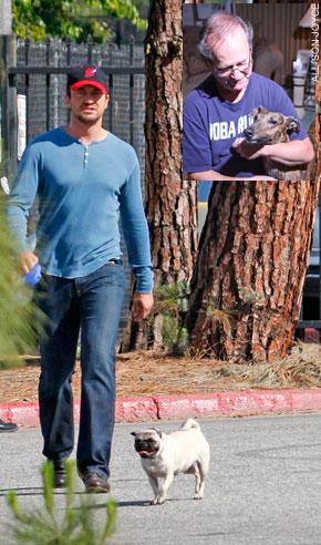 Pug-of-War with Actor Gerard Butler