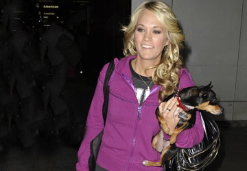 "Carrie Underwood ""Ace's"" it with her Dog as Ring Bearer"