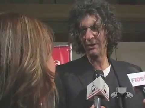 Howard Stern consults with his Bulldog in the bathroom about his day