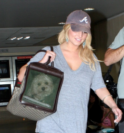 Jessica Simpson and her dog Daisy!