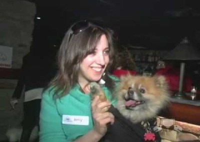 Rockin' Dogs at the Leashes and Lovers Ruff Celebrity Party